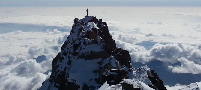 Dufourspitze 4634 m, od 1. do 5.8.2016.