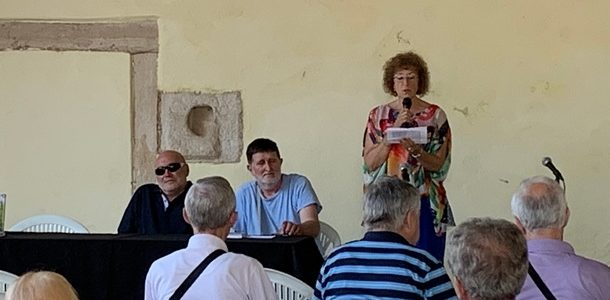 U Svetvinčentu predstavljena knjiga Planinarenje na slijepo Feruča Lazarića