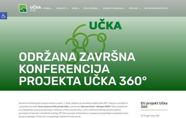 """Predstavnici IPS-a na završnoj konferenciji EU sufinanciranog projekta """"Učka 360°"""""""