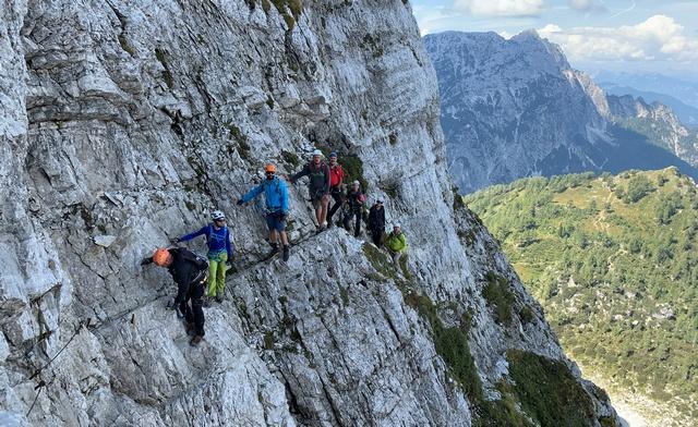 Uspješno održan A modul – kretanje osiguranim planinarskim putevima
